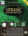 Music Manuscript Kit-CD Rom*