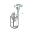 Tenor Horn Besson 1052 Silver plate