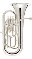 Euphonium-Besson Sovereign Silverplated 4 Valve