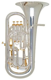 Euphonium-Besson Prestige Silverplated 4 Valve