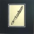 Art Work-Small 5 x 5 - Flute