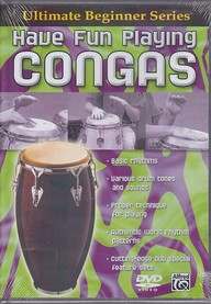 Ultimate Beginner-Have Fun Playing Congas