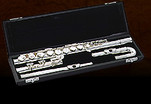 Pearl Alto Flute P201SU - Straight and Curved Heads