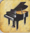 Coaster - Piano