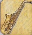 Coaster - Saxophone