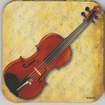 Coaster - Violin