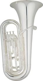 Tuba - Eastman 3/4 Eb 4 Valve 3   1 Silver plate