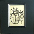 Art Work-Small 5 x 5 - Drum
