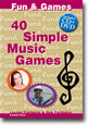40 Simple Music Games Bk/2 CD's
